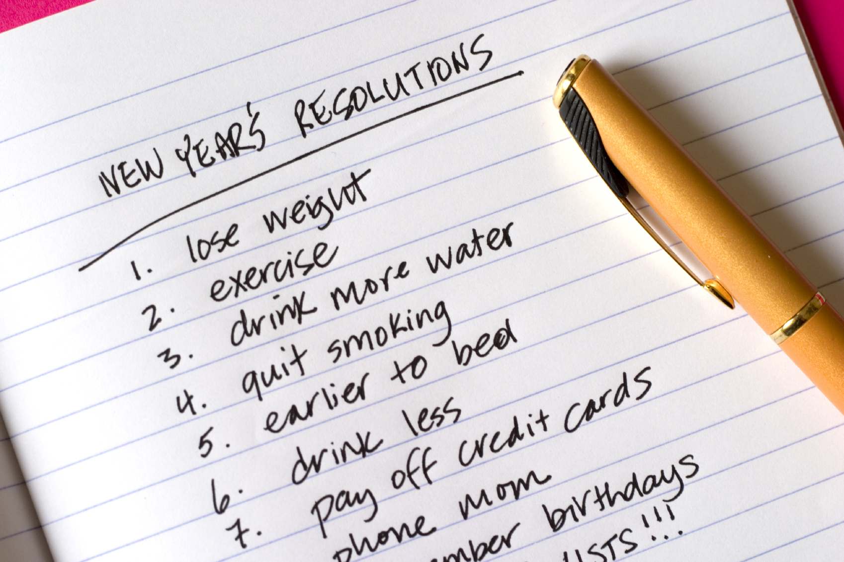 Bonnes résolutions et hygiénisme